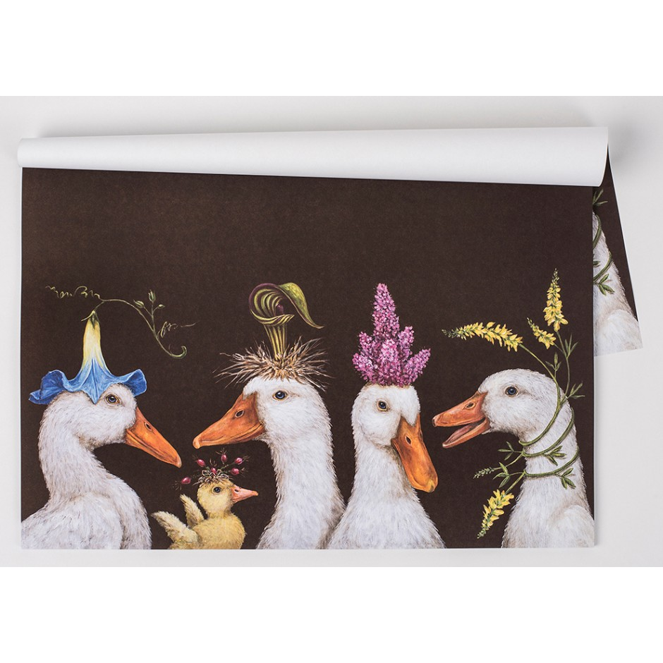 'Ducks' Placemat Pads by Vicki Sawyer