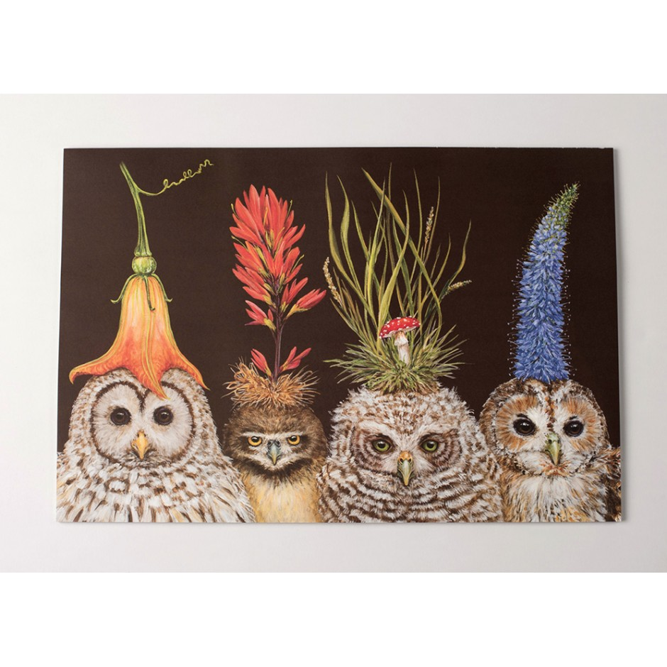'Baby Owls' Placemat Pads by Vicki Sawyer