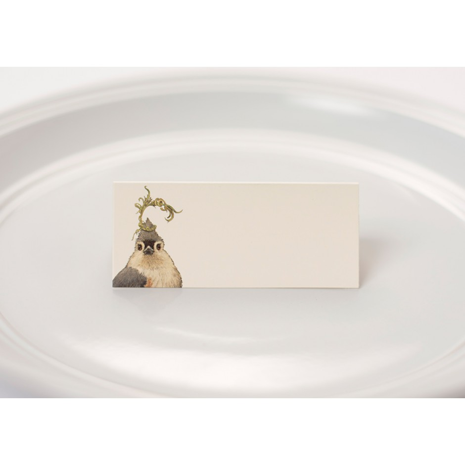 """Songbird"" Place Cards"